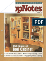 ShopNotes #22 (Vol. 04) - Wall Mounted Tool Cabinet.pdf