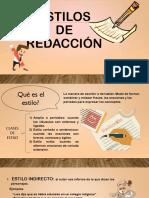Exposición - Redacción.