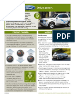 Ford Factsheet Ford Drive Green Oct2009