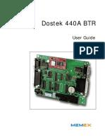 M110545 Dostek 440A BTR User Guide