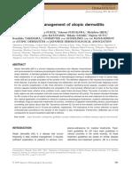 Guidelines for Management of Atopik Dermatitis