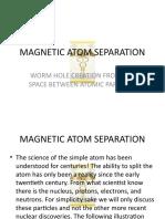 Presentation Atom Separation