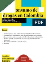 El Consumo de Drogas en Colombia