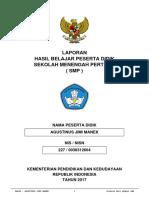 Pelengkap Rapor Agustinus Jimi Manek 20171
