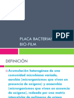 Placa Bacteriana y Bio Film