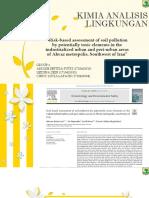ppt kimia analisis lingkungan