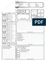 D&D 5th Edition Character Concept