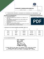EVALUACIÓN DE LENGUAJE Y COMUNICACIÓN CE-CI-QUE-QUI COMPRENSIÓN LECTORA.docx