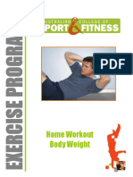 Home Workout Body Weight