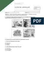 EVALUACIÓN DE  LENGUAJE - EL VALIENTE TEO (1).docx