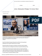 Netanyahu Vows He Will Annex Israeli Settlements in West Bank if Re-Elected _ NPR