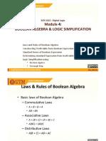 m4 Boolean Algebra