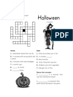 Halloween Crossword