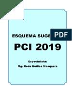 Propuesta de Esquema del Proyecto Curricular Institucional 2019