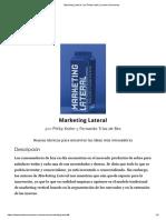 'Marketing Lateral', por Philip Kotler _ Leader Summaries.pdf