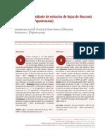 Dialnet-ActividadAntioxidanteDeExtractosDeHojasDeBocconiaF-6041492