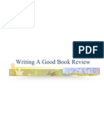 Writing a Good Book Review