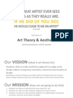 Art Theory 01-02. Intro to Aesthetic