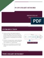 Smart Sensors Ppt