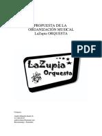 presentacion LaZupia Orquesta