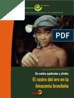 Revista Pe Oro 5 Rastros de Oro en Amazonia Brasil l de Oliveira Opt