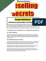Pre Selling Secrets