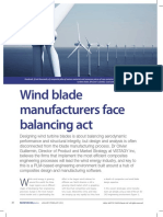 Wind blade manufacturing facts