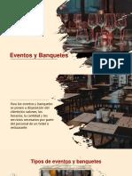 Eventos y Banquetes, chef ejecutivo y restaurante..pptx