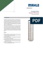 PGR Gas Coalescing Cartridge