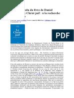 Daniel Boyarin, Le Christ juif à la recherche des origines.docx
