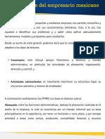 Cracteristicas Empresario Mexicano