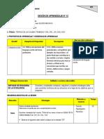 COMUNICACION SESIÓN DE APRENDIZAJE N 13.docx