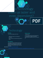 Advantages of technology