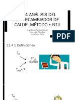 11.4 Analisis Del Intercambiador de Calor. El Método E-NUT