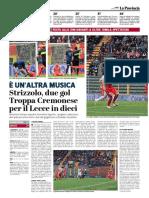 La Provincia Di Cremona 08-04-2019 - E' Un'Altra Musica