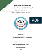 analisis sistem logistik dan outlook ekonomi indonesia tahun 2017.docx