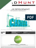 'Çareer Development' HeadHunt Issue 57_