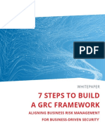 7 Steps to Build a Grc Framework