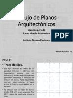 Dibujo de Planos Arquitectónicos