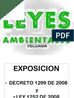 Expocicion Decreto1299 y Ley 1252