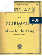 SCHUMANN Album de La Juventud