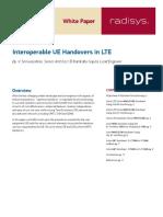 LTE Handover Call Flow