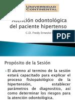Atención odontológica del paciente hipertenso.pptx
