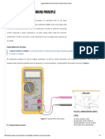 Digital Multimeter Working Principle _ Electrical A2Z