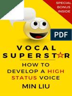 Vocal Superstar_ How to Develop - Min Liu