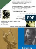 Escultor Antonio Pena