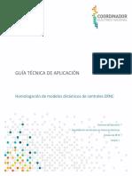 Guía Técnica Homologación de Modelos Dinámicos de Centrales ERNC