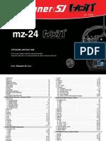 Manual Graupner MZ-24