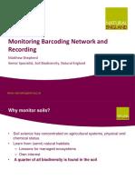Monitoring Barcoding Etc