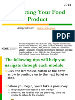 2014 Marketing Your Food Product